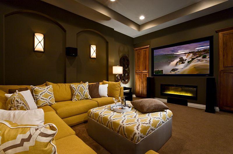 8 ایده جالب و کاربردی برای دکوراسیون فضای اطراف میز تلویزیون
