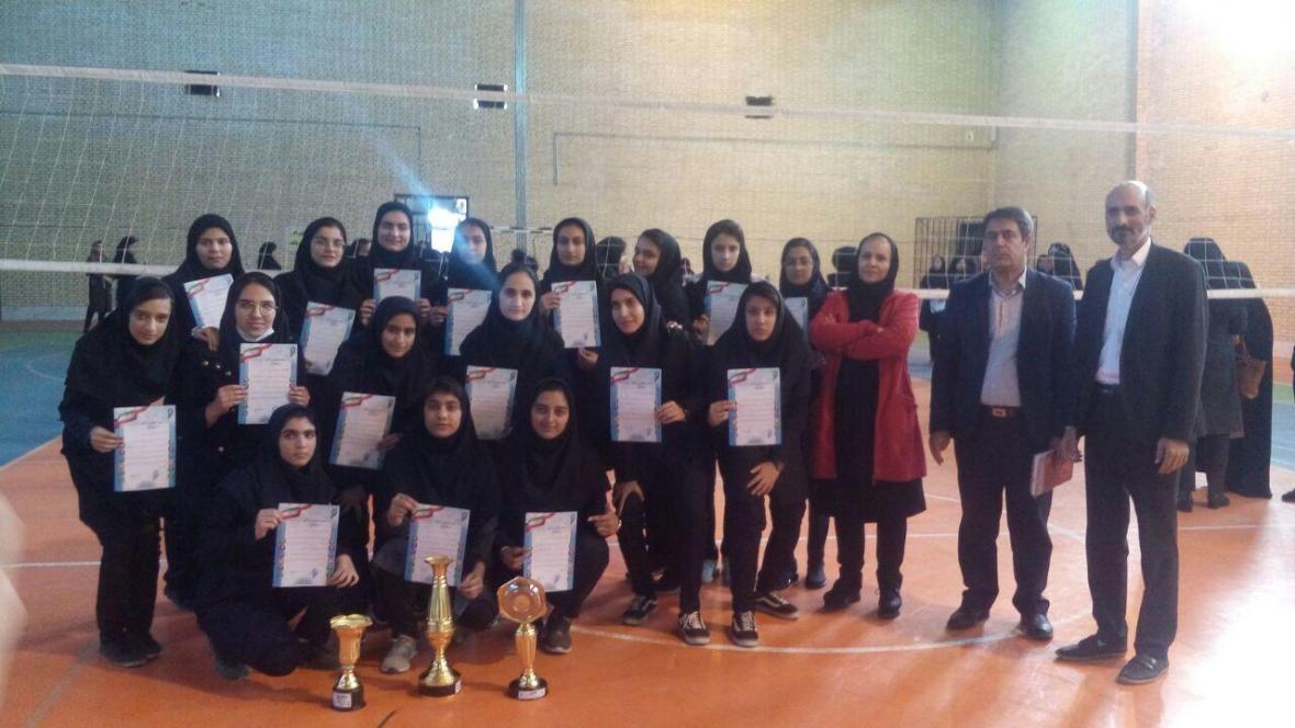 اختتامیه مسابقات ورزشی دانش آموزی دختران در شهربابک