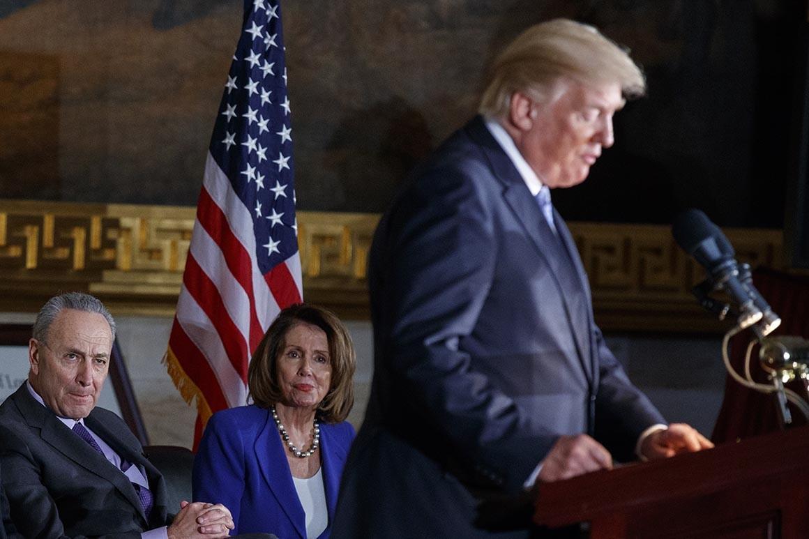رهبران دموکرات آماده نبردی تازه با ترامپ شدند