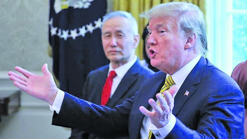 لگد ترامپ به میز مذاکره با چین
