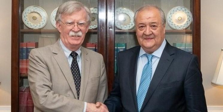 جان بولتون: از اصلاحات در ازبکستان حمایت می کنیم