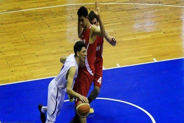 قزاقستان مغلوب تیم بسکتبال جوانان ایران شد