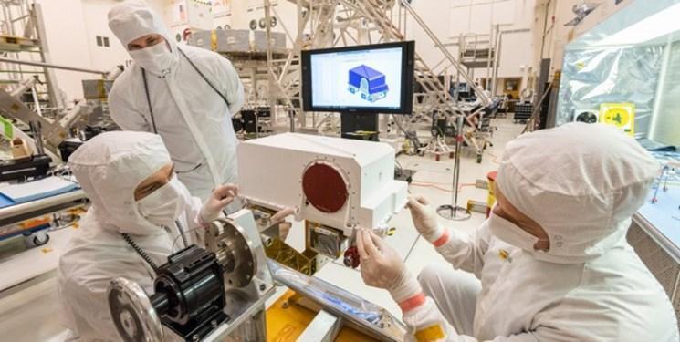 نصب سخت افزار در مریخ نورد 2020