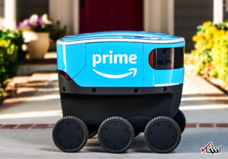 ربات خودران تحویل کالای آمازون روند آزمایشی خود را در کالیفرنیا شروع کرد