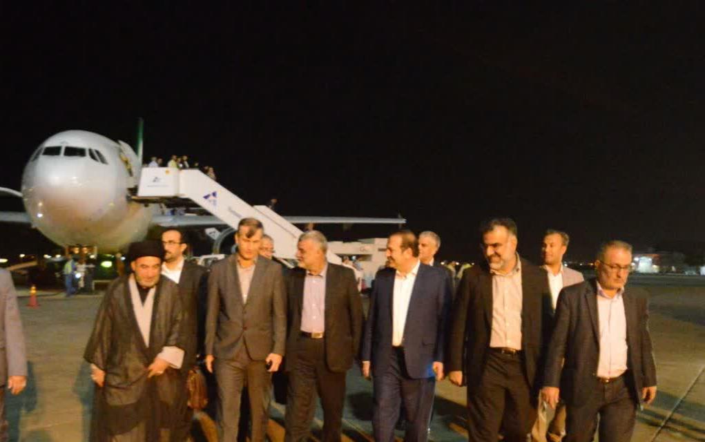 وزیر جهاد کشاورزی وارد استان فارس شد