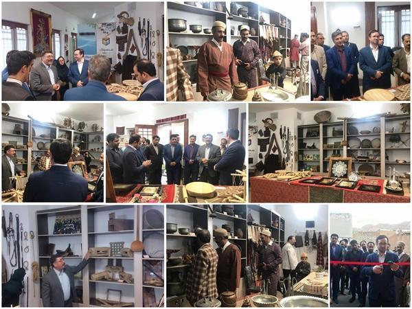 اولین موزه صنایع دستی ایل سنگسر در استان سمنان افتتاح شد