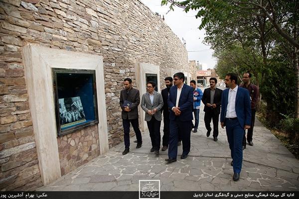 گالری شهری در محل آدینه مسجد اردبیل دایر شد