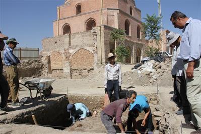 آغاز کاوش باستان شناسی در محوطه مسجد جامع ارومیه