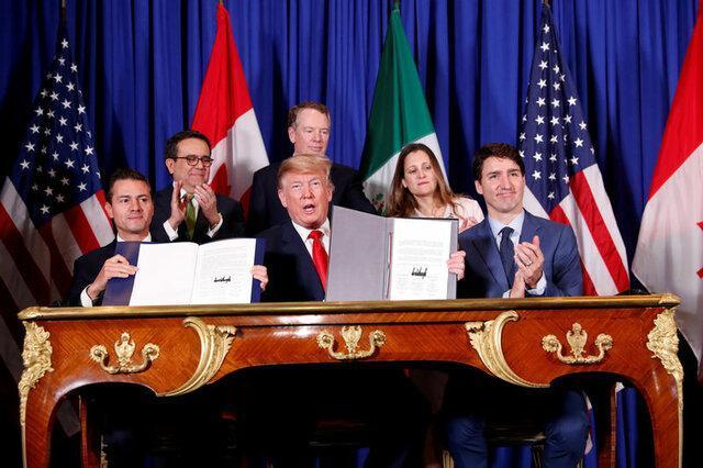 انصراف ترامپ از وضع تعرفه روی واردات از مکزیک