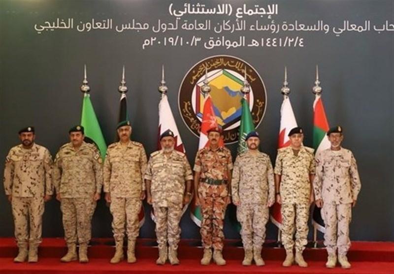 نشست فوق العاده مقام های ارشد نظامی کشورهای عضو شورای همکاری در ریاض
