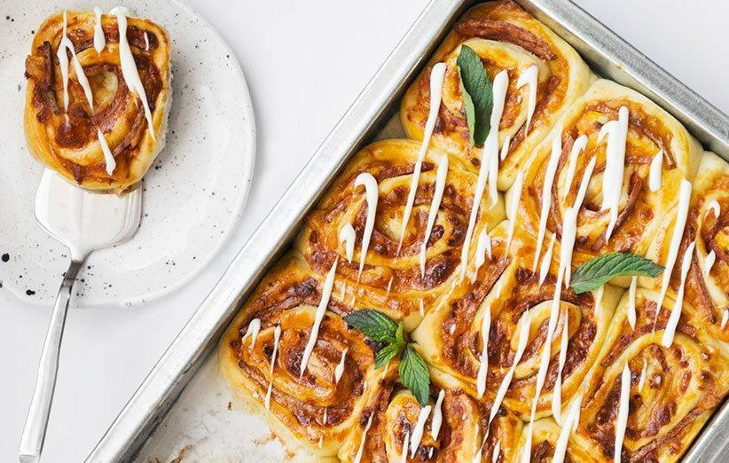 چطور پیتزا رولی پپرونی درست کنیم؟