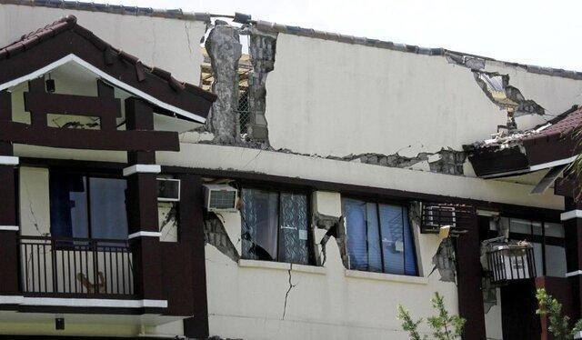 زلزله 6.5 ریشتری در فیلیپین