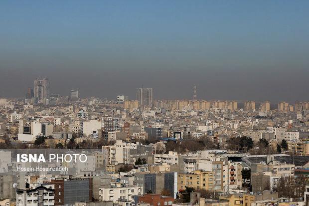 هوای پایتخت امروز برای گروه های حساس ناسالم است