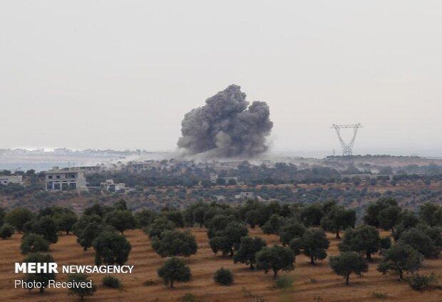 حملات موشکی تروریستها به حومه شمالی حماه