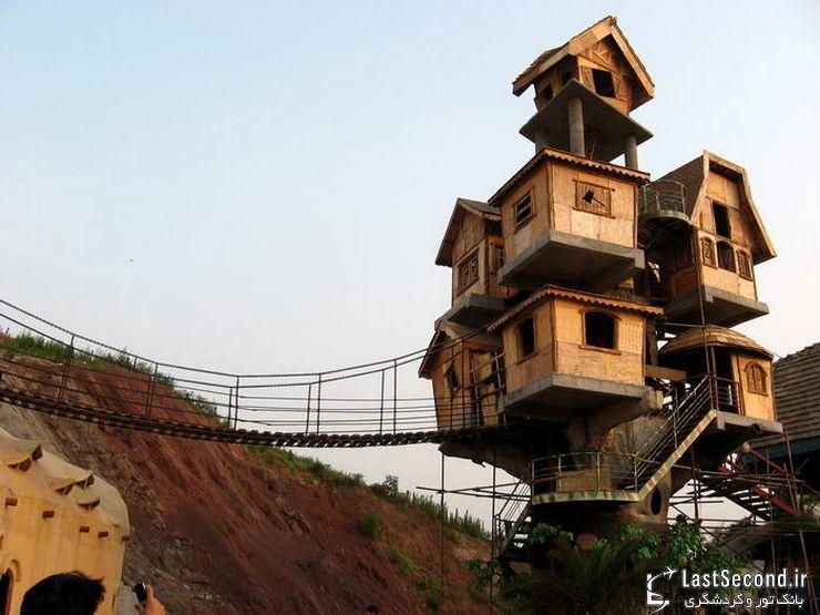 ده خانه درختی جالب در گوشه و کنار دنیا
