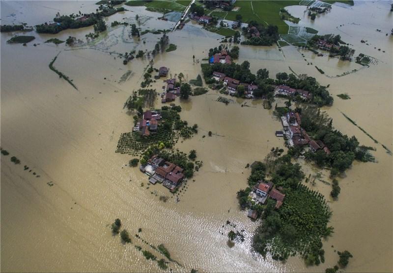 78 کشته، 91 مفقود و تخریب 400هزار خانه بر اثر سیل بی سابقه در چین
