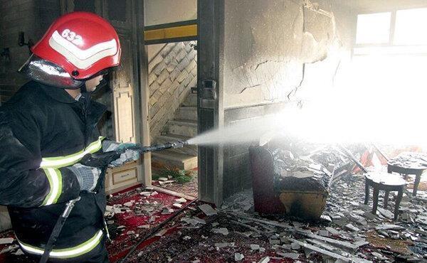 انفجار منزل مسکونی در محله الهیه