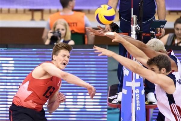 لیگ جهانی والیبال 2017؛ آمریکا مغلوب کانادا شد