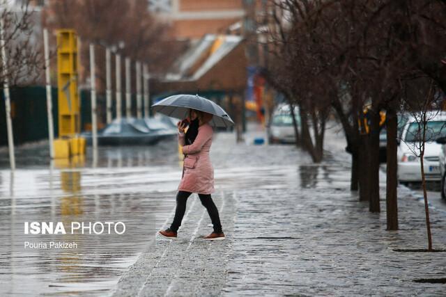 ورود سامانه بارشی به آذربایجان شرقی از روز سه شنبه