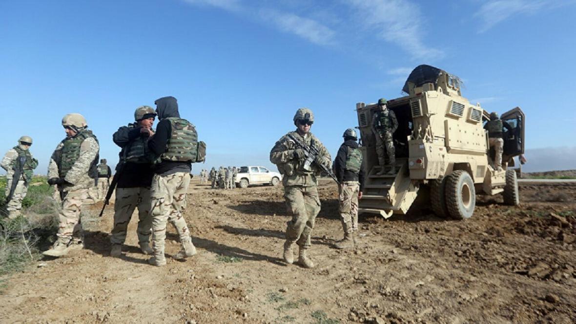 خبرنگاران آمریکا مواضع بعضی نیروهایش را در عراق تغییر می دهد