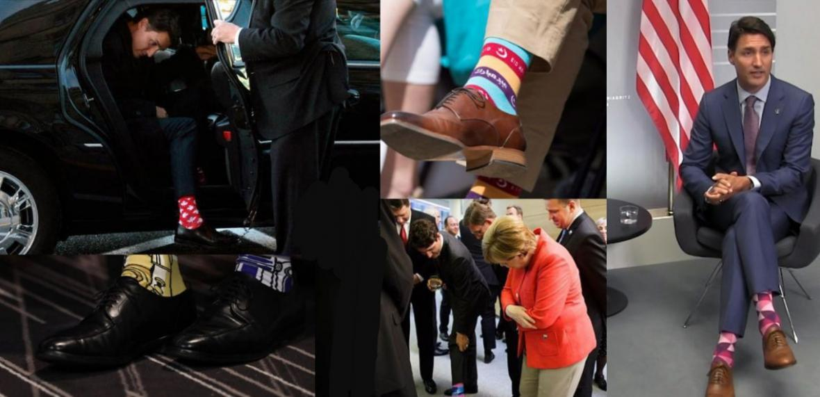 نخست وزیر کانادا جوراب صورتی خود را از کجا خریده است؟