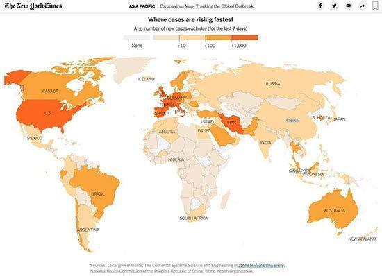 تازه ترین خبرها از شرایط کرونا در دنیا، کدام کشورها پیشتاز هستند؟