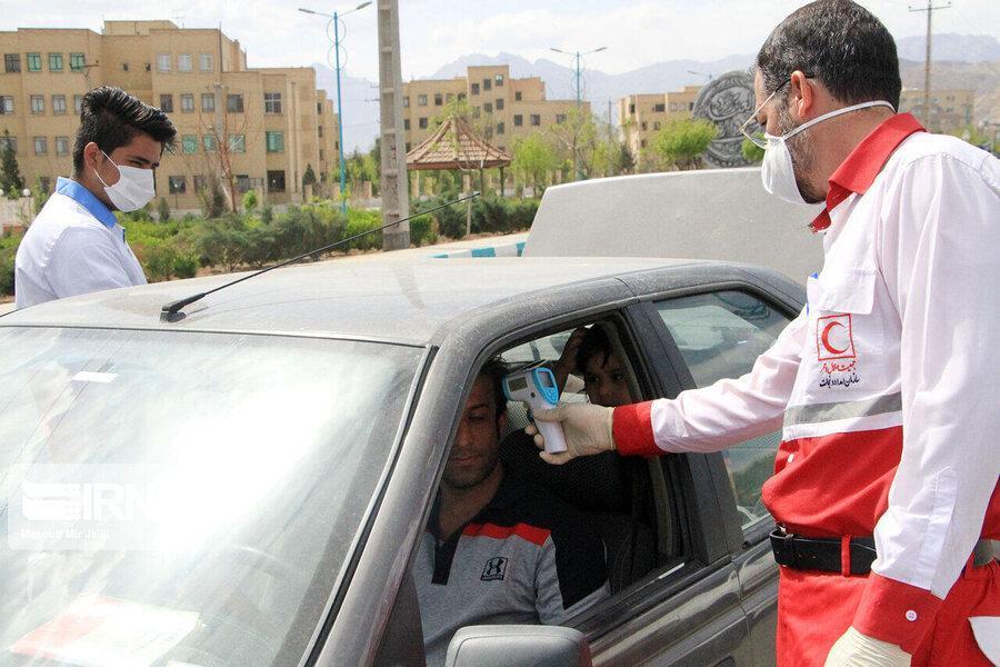 شناسایی 326 نفر مشکوک به کرونا در ورودی های استان سمنان