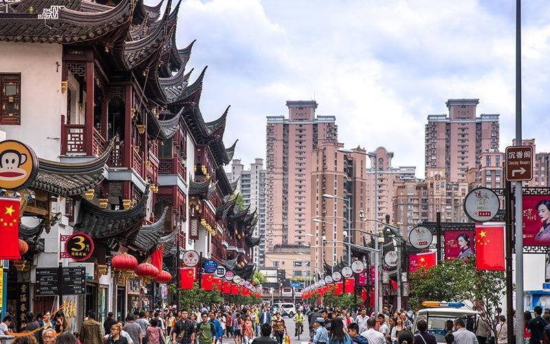 خیابان یویوآن شانگهای، جایی که هر چه درباره چینی ها باید بدانید را به شما می گوید!