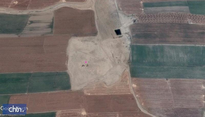 استخر احداث شده در عرصه تل اسکو داراب قرار ندارد