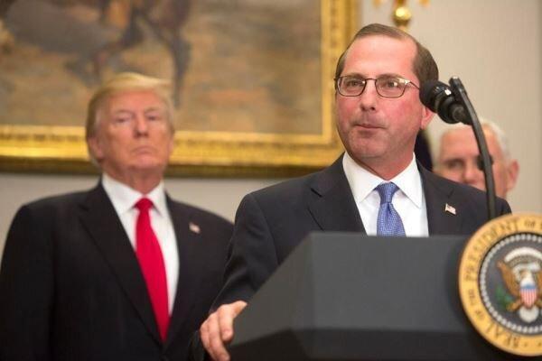 ترامپ می خواهد وزیر بهداشت آمریکا را قربانی کند
