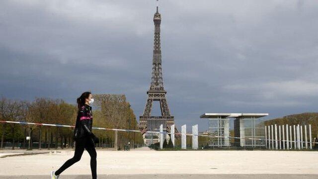 کرونا؛ مرگبارترین بلای بهداشتی فرانسه در نیم قرن اخیر