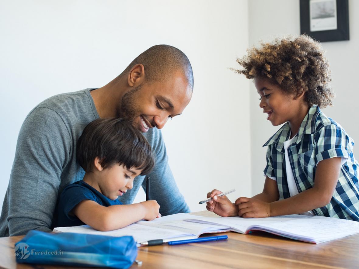 چگونه بچه ها را به انجام تکالیف مدرسه تشویق کنیم؟