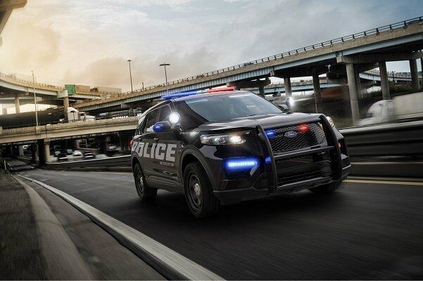 ضدعفونی خودروهای پلیس فورد با گرمای خود اتومبیل