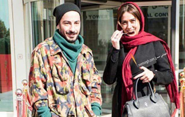 گریم عجیب نوید محمدزاده و پریناز ایزدیار در فیلم تفریق، تصاویر