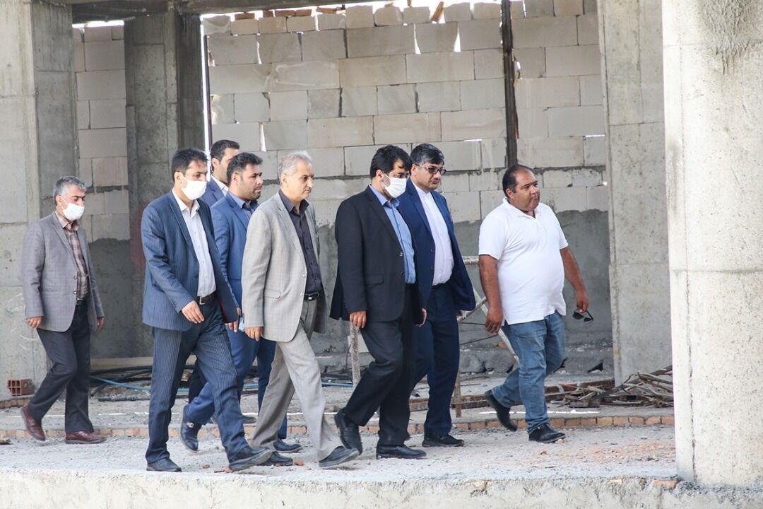 خبرنگاران بزرگترین مجموعه هیدروتراپی ایران در اردبیل به بهره برداری می رسد