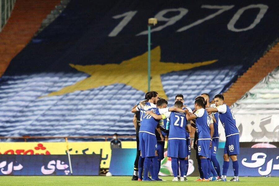 درگیری بازیکنان استقلال با نیروی انتظامی