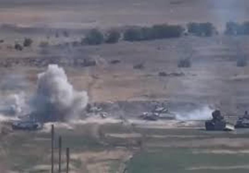 ادامه تحرکات نظامی در دهمین روز درگیری نیروهای ارمنستان و آذربایجان