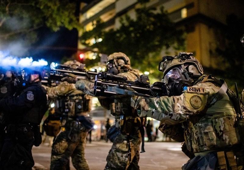 پلیس پورتلند بیش از 50 نفر را بازداشت کرد
