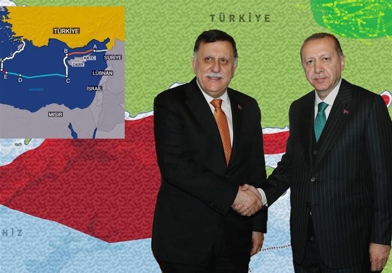 تایید توافق حریم دریایی بین ترکیه و لیبی توسط سازمان ملل متحد