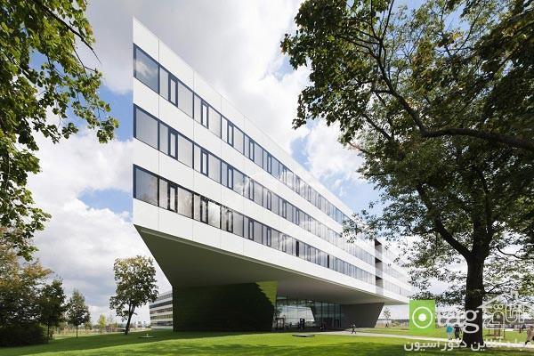 آشنایی با نمای داخلی و خارجی ساختمان مرکزی شرکت آدیداس