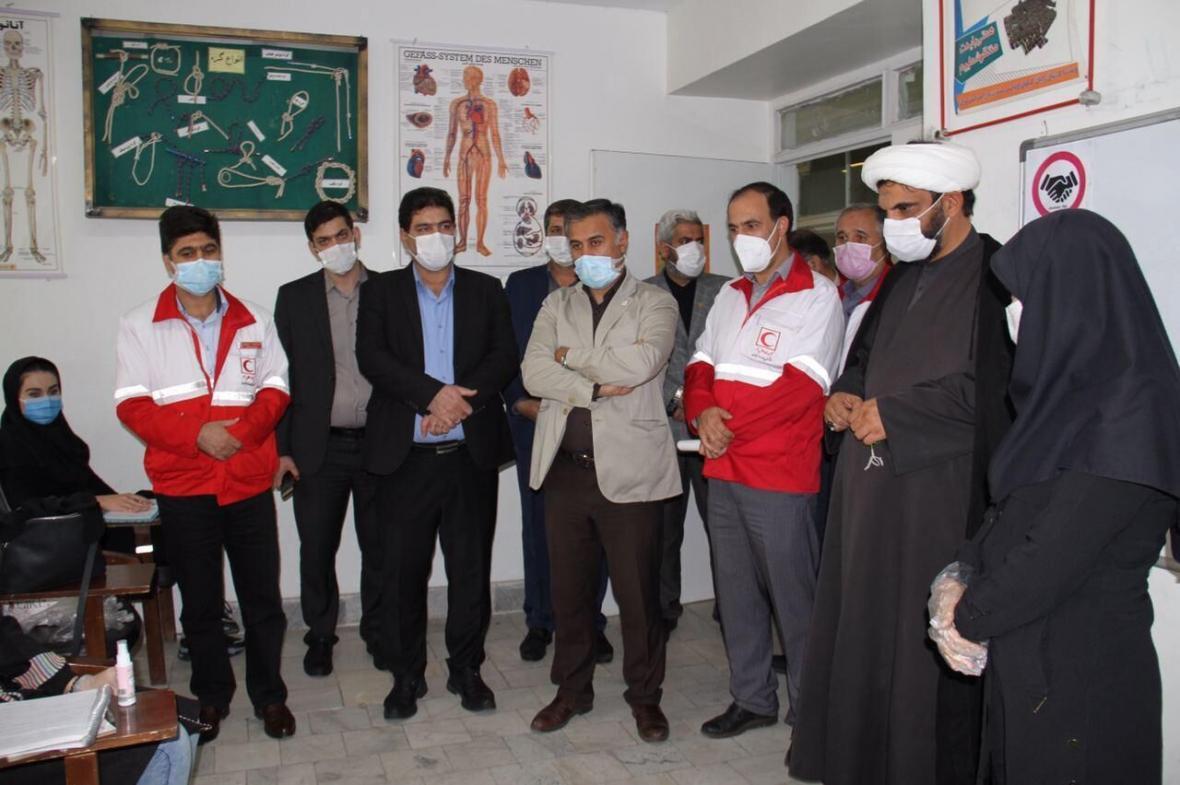خبرنگاران رئیس جمعیت هلال احمر: برای تجهیز انبار امدادی شهرری اعتبار اختصاص می یابد