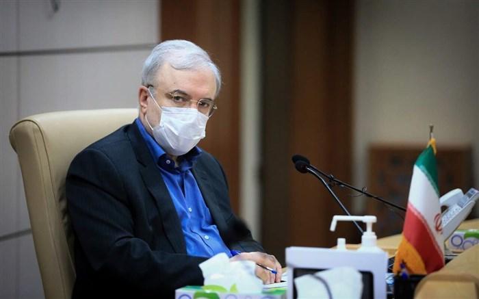 تکذیب ابتلای وزیر بهداشت به کرونا