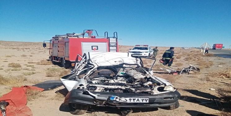 6 کشته و یک مصدوم در دو تصادف جاده ای