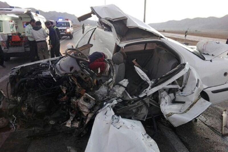 تصادف مرگبار محور سمیرم- حنا