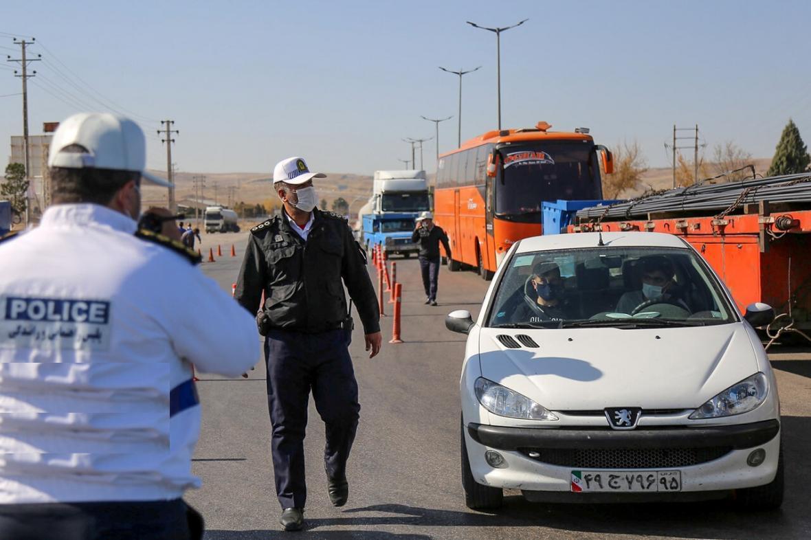 پلیس خراسان شمالی از ورود 30 هزار خودرو به بجنورد جلوگیری کرد