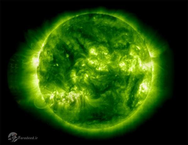 خورشید واقعا چه رنگی است؟