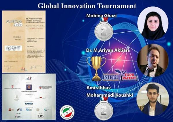 موفقیت های تیم اختراعات ایران در مسابقات بین المللی