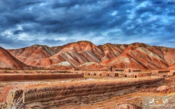 کوه های رنگارنگ آلاداغ لار؛ یکی از عجایب دیدنی تبریز