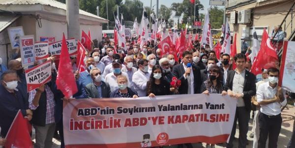 معترضان ترکیه ای، اخراج آمریکایی ها و بستن اینجرلیک را خواهان شدند