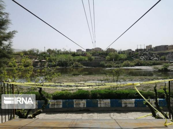 خبرنگاران زیپ لاین و پل معلق بر روی رودخانه سقز احداث می شود